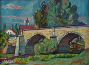 Kamenný most v Krsicích