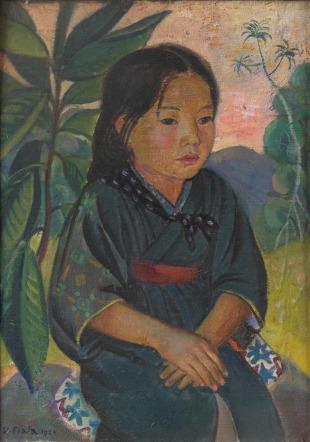Děvčátko z Ogasawy